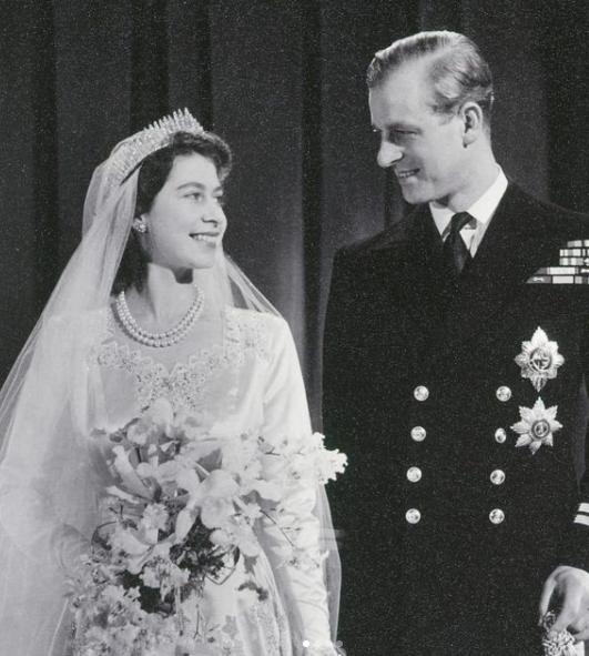 Il matrimonio della Regina Elisabetta