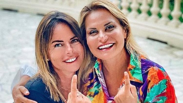 Simona Ventura Paola Perego