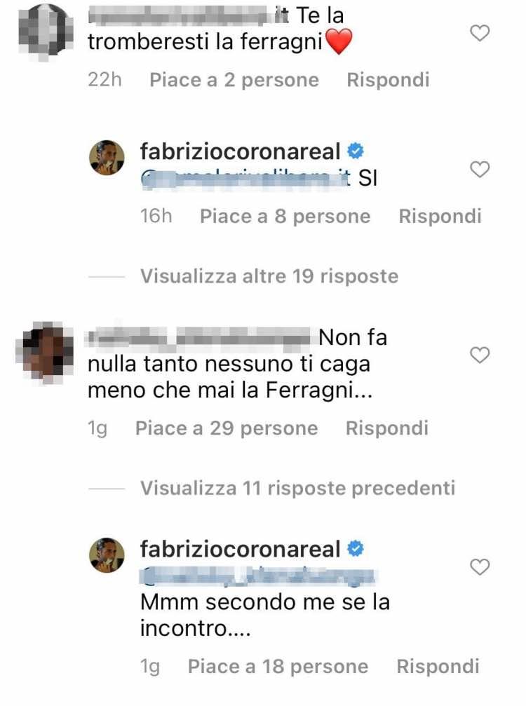 corona Ferragni