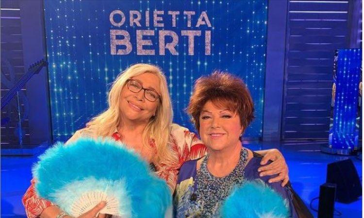 orietta berti Mara Venier