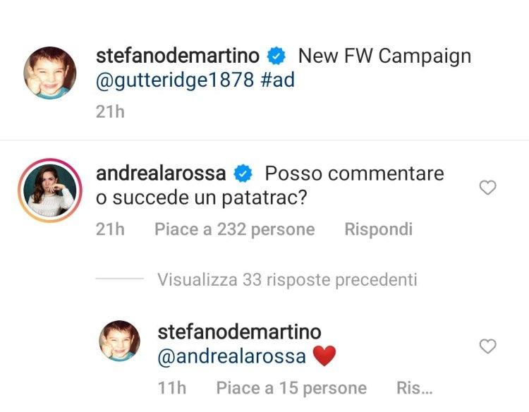 stefano de martino Andrea Delogu